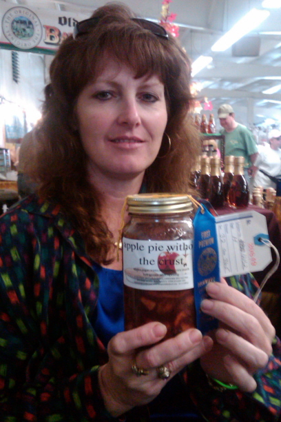 LORAINE WINS FIRST PLACE FOR AWESOME APPLE PIE WITHOUT THE CRUST AT THE DELAWARE COUNTY FAIR IN AUGUST 2010!