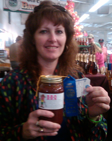 LORAINE WINS FIRST PLACE FOR AWESOME BBQ AT THE DELAWARE COUNTY FAIR IN AUGUST 2010!