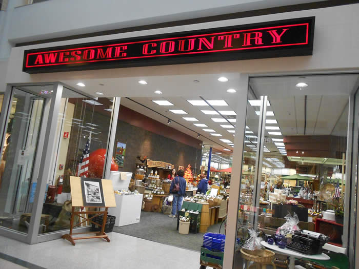 AWESOME COUNTRY! POUGHKEEPSIE GALLERIA MALL!
