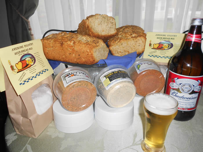 AWESOME COUNTRY'S BEER BREAD!