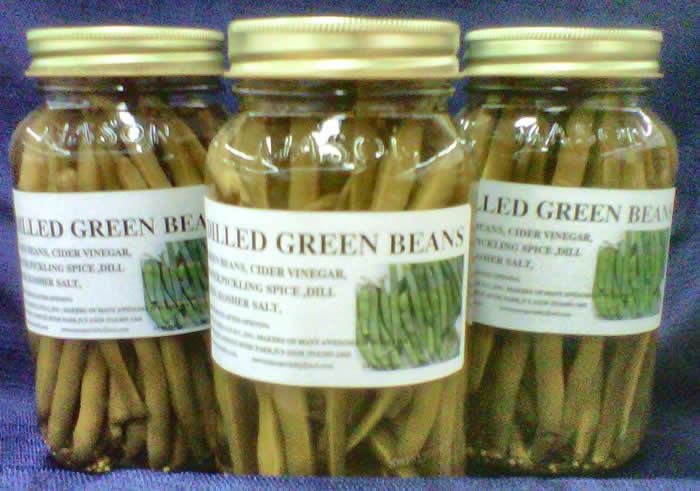 AWESOME'S DILLED GREEN BEANS